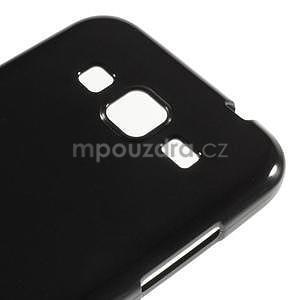 Lesklý gelový obal na Samsung Galaxy Core Prime - černý - 3