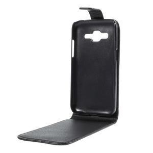 Flipové puzdro Samsung Galaxy Core Prime - čierne - 3