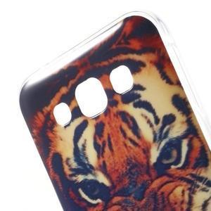 Gélový obal pre mobil Samsung Galaxy E5 - tiger - 3