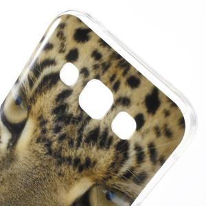 Gélový obal na mobil Samsung Galaxy E5 - leopard - 3