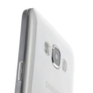 Ulta tenký obal na Samsung Galaxy E7 - transparentný - 3