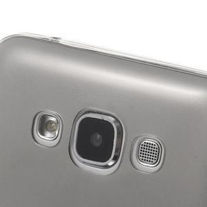 Ulta tenký obal na Samsung Galaxy E7 - šedý - 3