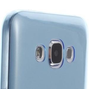 Ulta tenký obal pre Samsung Galaxy E7 - modrý - 3