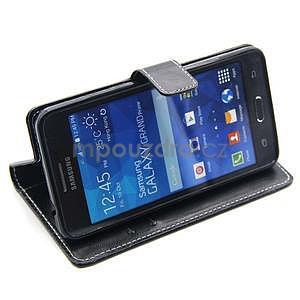 Čierné puzdro pre Samsung Galaxy Grand Prime - 3