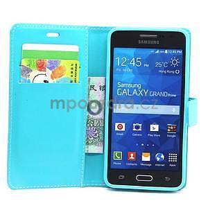 Tyrkysové puzdro na Samsung Galaxy Grand Prime - 3