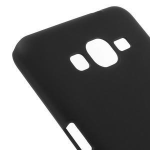 Pogumovaný kryt pre Samsung Galaxy Grand Prime - čierny - 3