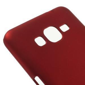 Pogumovaný kryt pre Samsung Galaxy Grand Prime - červený - 3