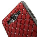 Červený drahokamový kryt pre Samsung Grand Prime - 3/6