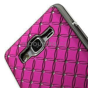 Rose drahokamový kryt na Samsung Grand Prime - 3