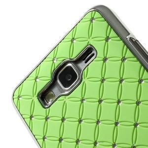 Zelený drahokamový kryt pre Samsung Grand Prime - 3