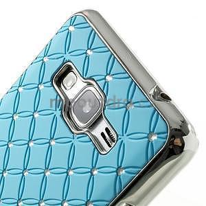 Tyrkysový drahokamový kryt pre Samsung Grand Prime - 3