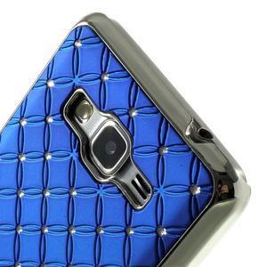 Modrý drahokamový kryt na Samsung Grand Prime - 3