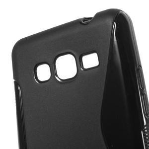 S-line gélový obal na Samsung Galaxy Grand Prime - čierny - 3