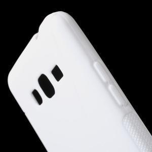 S-line gélový obal pre Samsung Galaxy Grand Prime - biely - 3