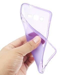 S-line gélový obal na Samsung Galaxy Grand Prime - fialový - 3