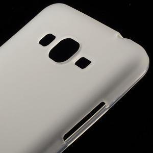 Transparentný matný gélový obal pre Samsung Galaxy Grand Prime - 3
