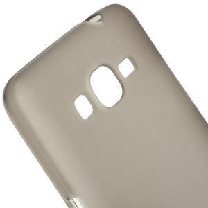 Šedý matný gélový obal pre Samsung Galaxy Grand Prime - 3