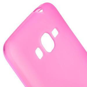 Rose matný gélový obal pre Samsung Galaxy Grand Prime - 3