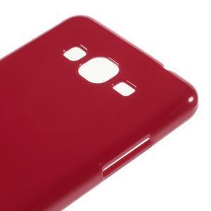 Gélový kryt na Samsung Galaxy Grand Prime - červený - 3