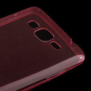 Ultra tenký obal pre Samsung Galaxy Grand Prime G530H - červený - 3