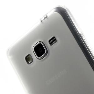 Oboustranně matný kryt na Samsung Galaxy Grand Prime - biely - 3