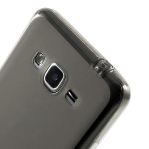 Oboustranně matný kryt na Samsung Galaxy Grand Prime - šedý - 3