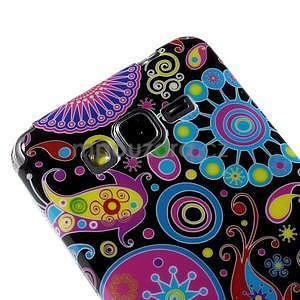 Gélový obal Samsung Galaxy Grand Prime G530H - farebné kruhy - 3