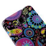 Gélový obal Samsung Galaxy Grand Prime G530H - farebné kruhy - 3/4