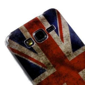 Gélový obal Samsung Galaxy Grand Prime G530H - UK vlajka - 3
