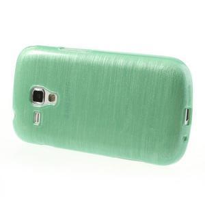 Broušený gélový kryt na Samsung Galaxy S Duos - zelený - 3