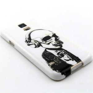 Luxury gélový obal pre mobil Samsung Galaxy S5 - lebka - 3