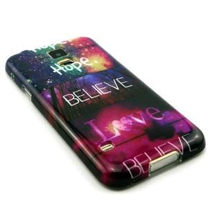 Luxury gélový obal pre mobil Samsung Galaxy S5 - believe - 3