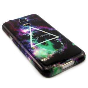 Luxury gélový obal pre mobil Samsung Galaxy S5 - triangl - 3