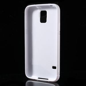 S-line gelový obal na mobil Samsung Galaxy S5 - bílý - 3