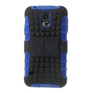 Outdoor odolný kryt pre mobil Samsung Galaxy S5 - modrý - 3