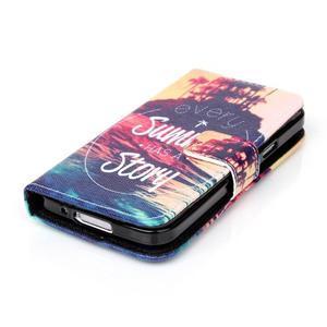 Stand peňaženkové puzdro pre Samsung Galaxy S5 mini - pribeh - 3
