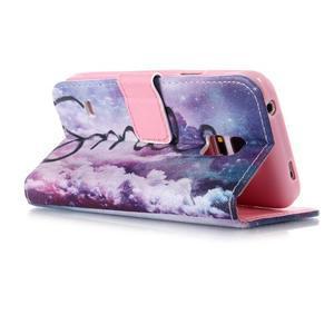 Stand peňaženkové puzdro pre Samsung Galaxy S5 mini - smile - 3