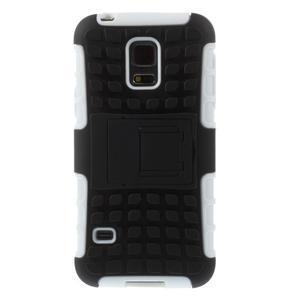 Outdoor odolný obal pre mobil Samsung Galaxy S5 mini - biely - 3