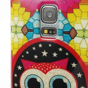 Owls gelový obal na Samsung Galaxy S5 mini - sovička - 3