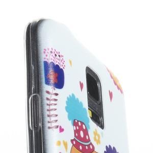 Ultratenký obal na mobil Samsung Galaxy S5 mini - slon - 3