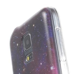 Ultratenký obal na mobil Samsung Galaxy S5 mini - galaxie - 3