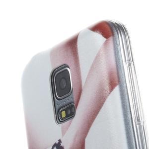 Ultratenký obal pre mobil Samsung Galaxy S5 mini - US topánky - 3
