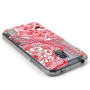 Transparentní gelový obal na mobil Samsung Galaxy S5 mini - mandala - 3