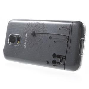 Gélový kryt pre mobil Samsung Galaxy S5 mini - láska - 3
