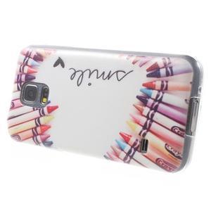 Gélový kryt pre mobil Samsung Galaxy S5 mini - smile - 3