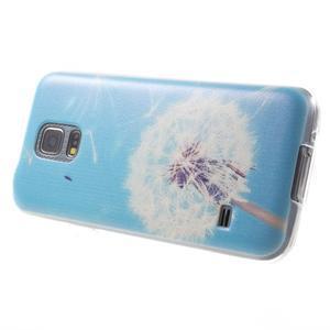 Gelový kryt na mobil Samsung Galaxy S5 mini - pampeliška - 3