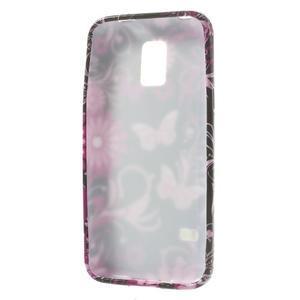 Softy gelový obal na Samsung Galaxy S5 mini - kouzelní motýlci - 3