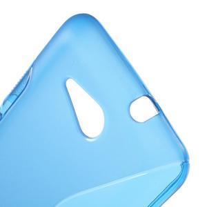S-line gélový obal pre Sony Xperia E4g -  modrý - 3
