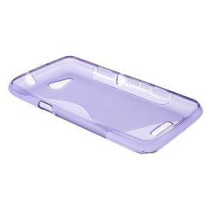 S-line gélový obal pre Sony Xperia E4g -  fialový - 3