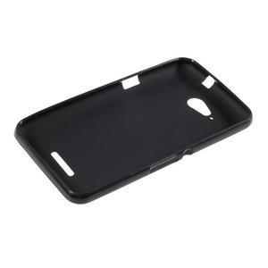 Obal z matného gélu pre Sony Xperia E4g - čierny - 3